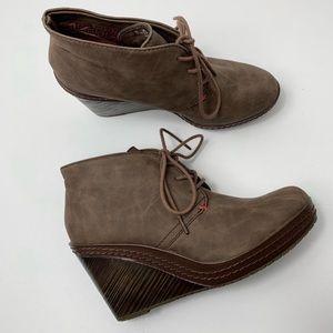 Dr. Scholls Bethany wedge booties | Boots | Wedge